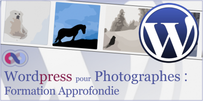 Formation Wordpress pour Photographes
